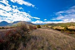 Ideia do outono da paisagem de Lika Fotografia de Stock Royalty Free