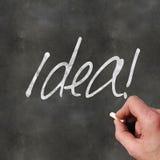 Ideia do quadro-negro Imagem de Stock