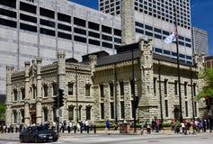 Ideia do sudoeste da estação de bombeamento da avenida de Chicago Fotos de Stock Royalty Free