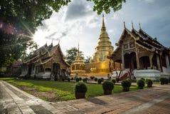 Ideia do tempel da redação em Chiangmai, Tailândia fotografia de stock royalty free