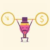 Ideia do urso do homem de negócios ao sucesso Foto de Stock