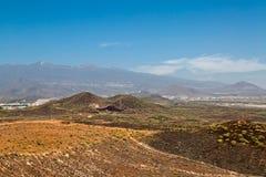 Ideia do vale, do céu e da atmosfera Foto de Stock Royalty Free