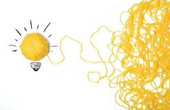Ideia e conceito da inovação imagens de stock