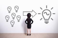 Ideia e conceito da inovação Imagens de Stock Royalty Free