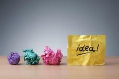 Ideia em desenvolvimento fotografia de stock