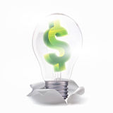 Ideia fresca para a finança do negócio Fotos de Stock Royalty Free