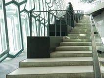 Ideia interior de Harpa Concert Hall e do centro de confer?ncia imagens de stock