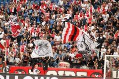 Ideia interior do estádio completo da arena de Amsterdão Imagem de Stock Royalty Free