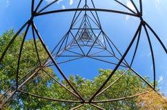 Ideia interna do ponto geodésico em Rússia Fotografia de Stock