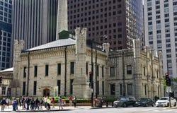 Ideia noroeste da estação de bombeamento da avenida de Chicago Imagens de Stock