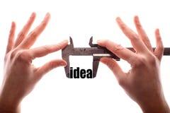 Ideia pequena Fotografia de Stock