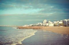 Ideia pitoresca do recurso bonito do mar com Imagens de Stock Royalty Free