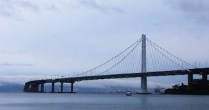 """Ideia ponte 4K da baía Oakland do †de San Francisco de """" video estoque"""