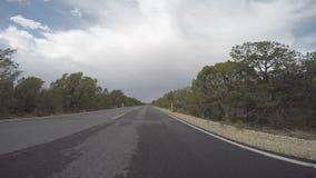 Ideia progressista do Tempo-lapso da condução de carro vídeos de arquivo