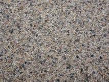 Ideia superior da superfície colorida da areia do mar como um fundo Decoração natural para a casa e os jardins Conceito da nature Fotos de Stock
