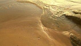 Ideia superior do litoral do mar filme