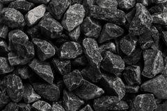 Ideia superior do preto mineral de carvão como um fundo da pedra do cubo indus imagens de stock royalty free