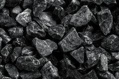 Ideia superior do preto mineral do depósito da mina de carvão para o fundo Usado como o combustível para o carvão industrial foto de stock royalty free