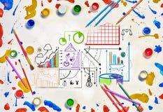 Ideias criativas para seu negócio Foto de Stock
