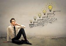 Ideias da escada Fotografia de Stock