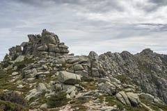 Ideias da escala dos picos de Siete Picos sete Imagens de Stock Royalty Free