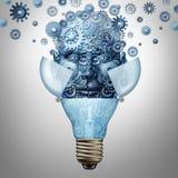 Ideias da inteligência artificial ilustração do vetor