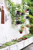 Ideias da pálete para jardinar Foto de Stock Royalty Free