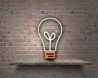 Ideias de Brigth foto de stock