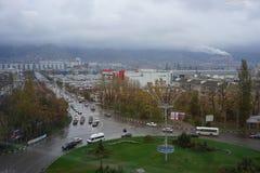 Ideias do centro da cidade, Novorossiysk Fotos de Stock