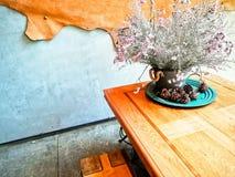 Ideias do design de interiores do restaurante e da cafetaria imagem de stock royalty free