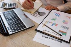 Ideias do empresário para a agricultura Plano de negócios da agricultura Imagem de Stock Royalty Free