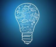 Ideias do negócio Imagens de Stock