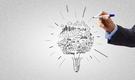 Ideias do negócio Imagem de Stock