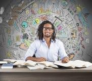 Ideias inovativas do negócio do estudo Fotografia de Stock
