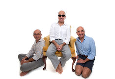 Identical brothers Royalty Free Stock Photography