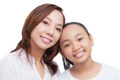 Identical smile Stock Photos
