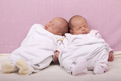 Identical twins Royalty Free Stock Image