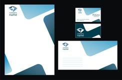 Identidad corporativa ilustración del vector