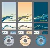 Identidad corporativa Stock de ilustración