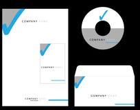 Identidad corporativa Imágenes de archivo libres de regalías