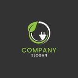 Identidad corporativa de la muestra del combustible de Eco Imagen de archivo libre de regalías