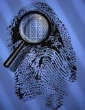 Identidad de Digitaces Imágenes de archivo libres de regalías