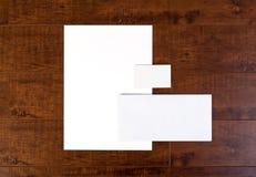 Identidad de marcado en caliente maqueta inmóvil imágenes de archivo libres de regalías