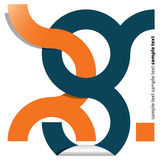 Identidade corporativa Imagens de Stock Royalty Free