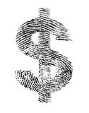 Identidade do dólar fotografia de stock royalty free