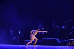A identidade do sentido- da busca do drama da dança do mistério-tango Fotografia de Stock Royalty Free