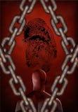 Identidade Imprisioned ilustração do vetor