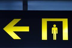 Identifica il bagno Immagini Stock Libere da Diritti