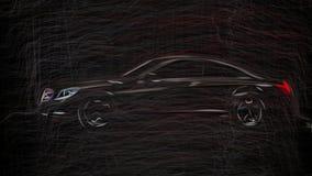 Identificación 2011 de la clase del CL de Mercedes Benz 6311 libre illustration