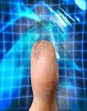 Identification biométrique illustration stock